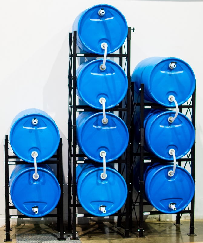 how to open 55 gallon drum without wrench