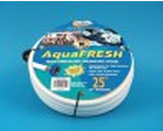 "AquaFRESH 1/2"" X 25' High Pressure Drinking Water Hose, White"